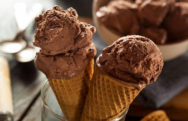 Receta de helado de chocolate casero