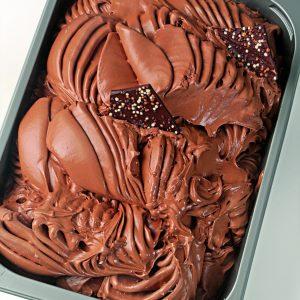Chocolate Callebaut,artesano, cremoso,mucho sabor,delicioso,sublime con trocitos